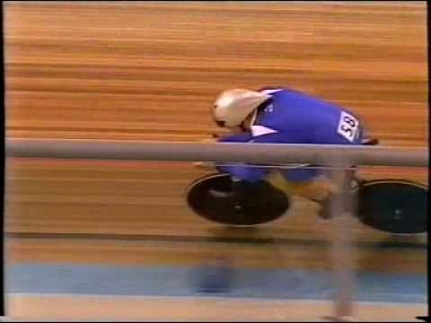 Chris Hoy wins 1KM Time Trial at 2004 Athens Olympic Games