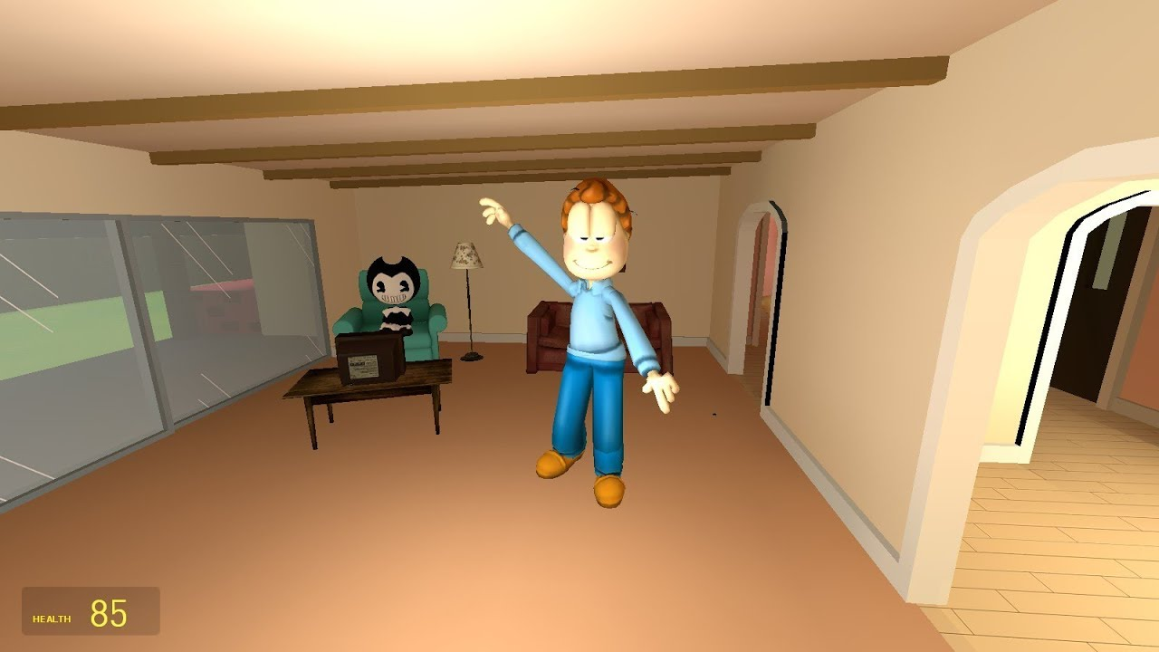 Jon Arbuckle From The Garfield Show Does A Fat Nae Nae Youtube