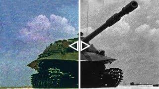Объект 279: колоризированная кинохроника испытаний / Object 279: colorized military tests