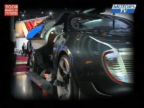 Concept Car Renault Ondelios News Paris Motor Show 2008 Youtube