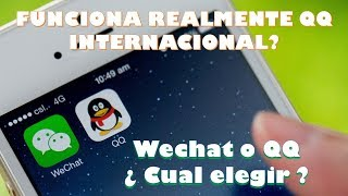QQ INTERNATIONAL - de la valeur ? APPLICATION en espagnol