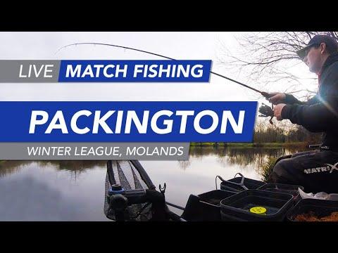 Live Match Fishing: Packington Fishery, Winter League, Molands Lake
