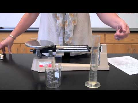 how to use a triple beam balance youtube