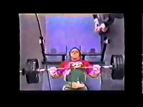 Bill Kazmaier - 287.5 kg / 633 lb Raw Bench