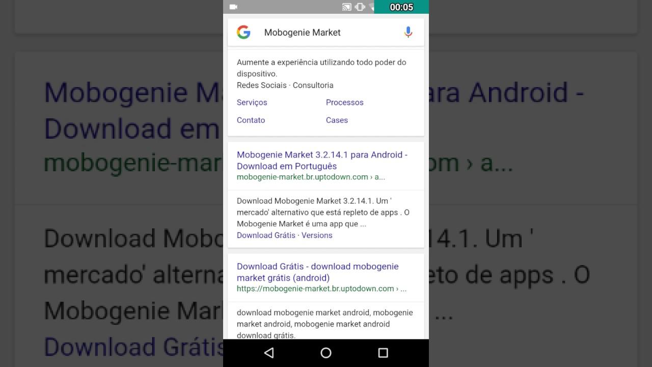 baixando mobogenie market sem virus em portugues youtube