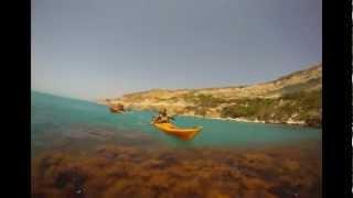 видео Путешествие на байдарках вдоль крымского побережья.