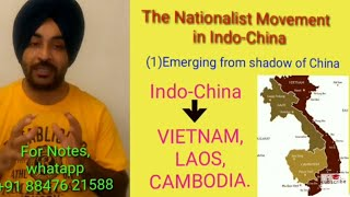 The nationalist movement in Indo China || Class 10 NCERT History
