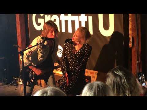 "KEITH URBAN SURPRISE: Sings to Nicole Kidman -""Parallel Line"" at GRAFFITI U album party"