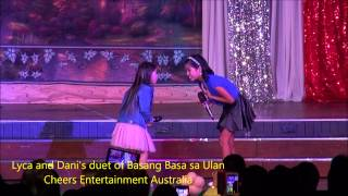 Lyca Gairanod and Dani de Leon sings Basang basa sa ULAN
