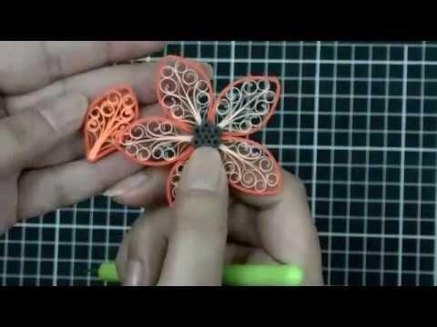 Papercraft Royal Flower with Amna  مع آمنه الفرض .. الوردة الملكيّة