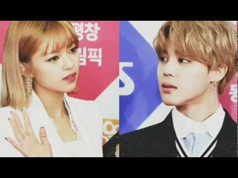 Resultado de imagen para Jeongyeon de Twice y Jimin de BTS