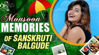 Monsoon Memories   Sanskruti Balgude   Pinjara, Lagna Mubarak, Re Raya   Marathi Actress