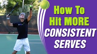 How To Hit More Consistent Serves