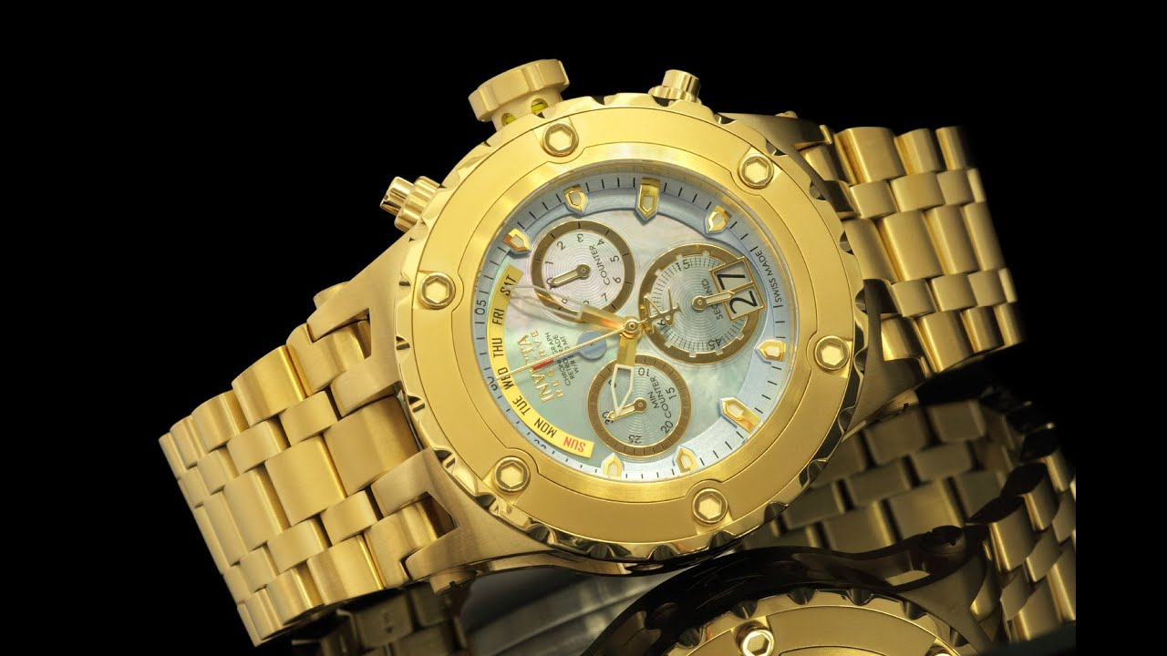 798c9d1f38b Invicta 16886 Reserve Specialty Subaqua Chronograph with Mother of Pearl  Dial