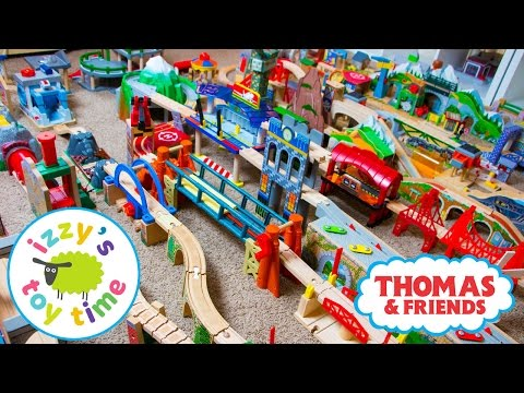 Thomas and Friends | Thomas Train HUGE INVENTORY with KidKraft Brio Imaginarium | Toy Trains 4 Kids