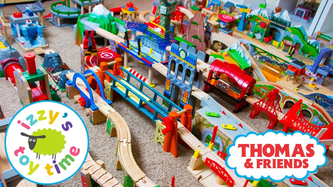 Thomas And Friends Thomas Train Huge Inventory With Kidkraft Brio