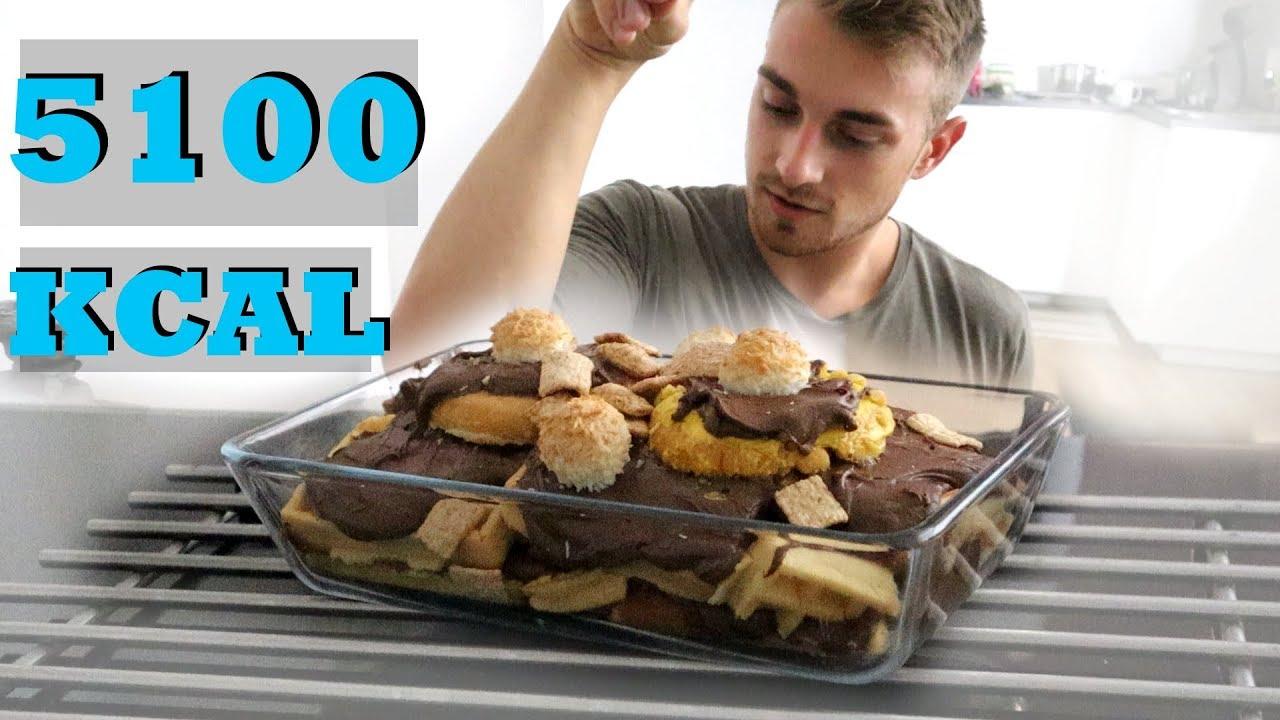 BRUTÁLIS CUKOR LASAGNA - 5100 kalória - YouTube