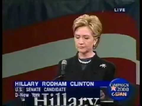 Hillary Announces Senate Candidacy (2000)
