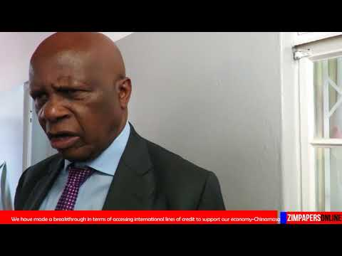 Zimbabwe makes breakthrough in accessing international lines of credit - Minister Chinamasa