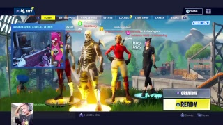Fortnite season 8 live road to 2k subs give away soon at 1k subs clan try outs new thing& stream sni