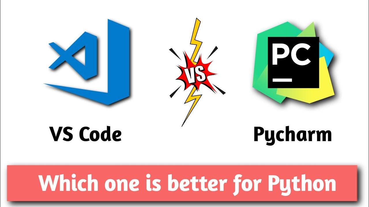 VS Code v/s PyCharm || difference between pycharm and visual studio code || AviUpadhyay