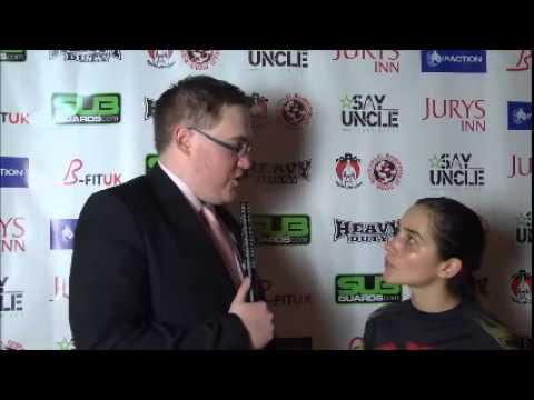 SUFN #2 - Post Fight Interview: Veronica Macedo