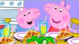 Свинка Пеппа Любит Кушать Пиццу и Торт