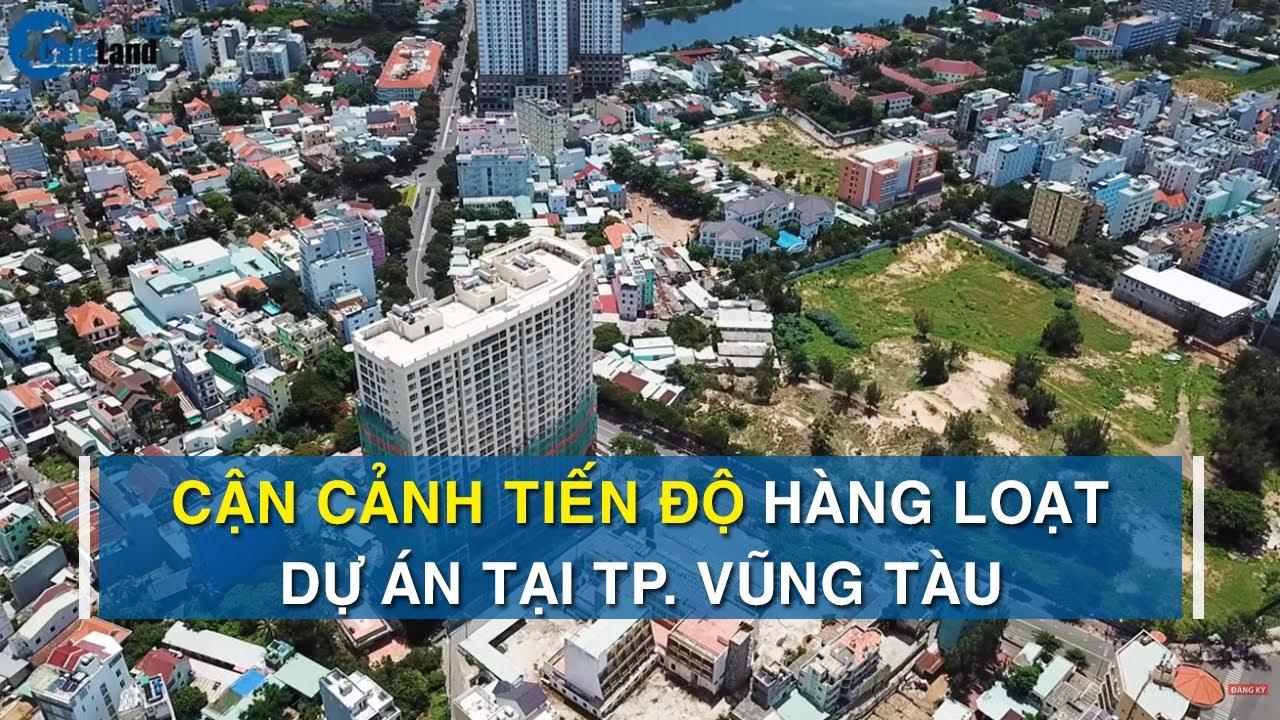 """""""Soi"""" tiến độ loạt dự án căn hộ – khách sạn tại thành phố Vũng Tàu   CAFELAND"""