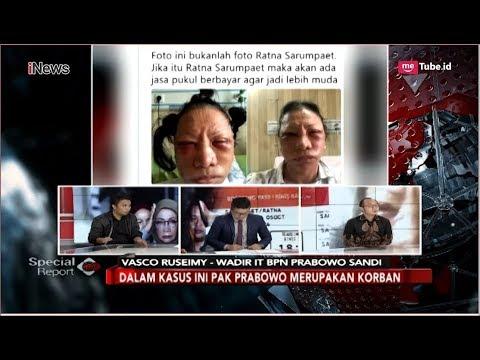 Reaksi Kubu Prabowo Soal Ratna Sarumpaet, Terkelabui atau Kompromi - Special Report 05/10