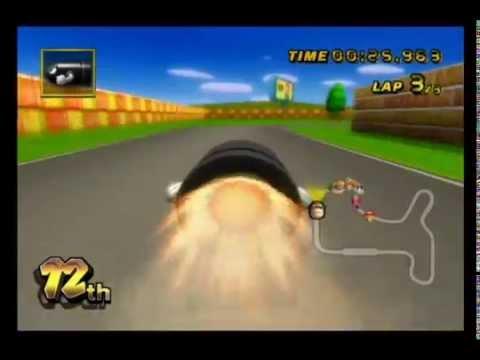 [MKWii] N64 Mario Raceway Bullet Bill Flap - 25.963