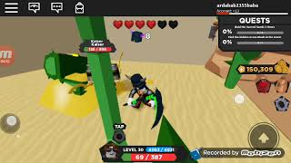 We played the Endles adventure game roblox