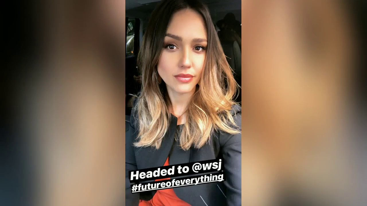 Jessica Alba Instagram stories - May 8, 2018 - YouTube