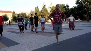 Открит урок с Пламен Иванов - Кулско хоро - Младежите танцуват - Плевен - 25.06.2017г.