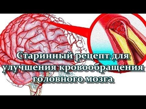 Старинный рецепт для улучшения кровообращения головного мозга