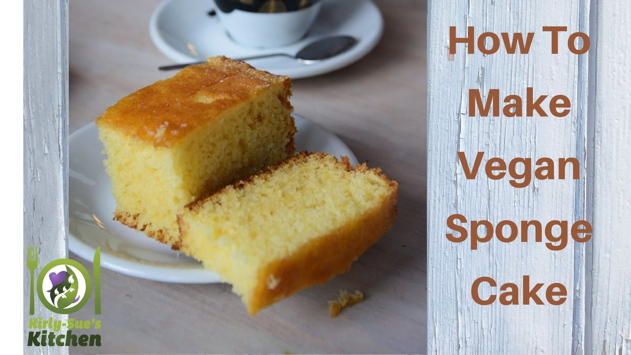 How To Make Vegan Chiffon Cake