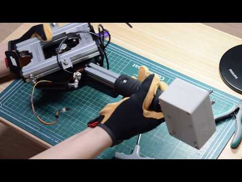 SimPit] DIY collective lever assembling - YouTube