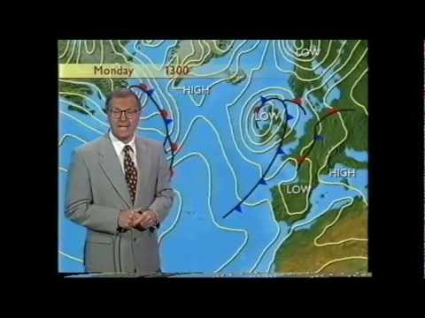 BBC Weather 17th July 1998