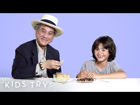 Kids Share Their Favorite Snack With Their Grandparents: Round 3 | Kids Try | HiHo Kids