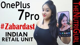 OnePlus 7 Pro - Unboxing & Overview in HINDI(INDIAN RETAIL UNIT)