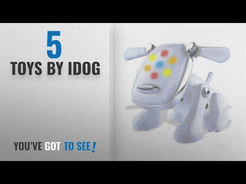 Top 10 Idog Toys [2018]: Hasbro i-Dog Robotic Music Loving Canine - White