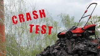Crash Test Aku sekačky s vyžínačem