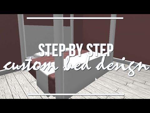 roblox-bloxburg-|-step-by-step:-custom-bed-design-1.9k
