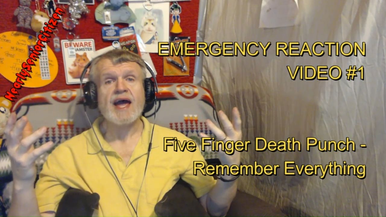 Amster Video emergency reaction video #1 - 5 finger death punch - remember