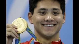 (里约奥运)新加坡斯库林摘史上首面奥运金牌100米蝶泳世界纪录翻新,Singapore's Joseph Schooling Gold - 100m Butterfly - Rio Olympics