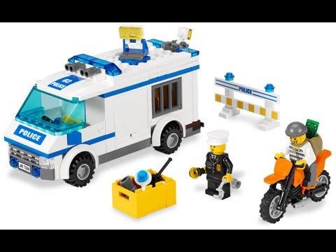 полицейская машинка инструкция лего