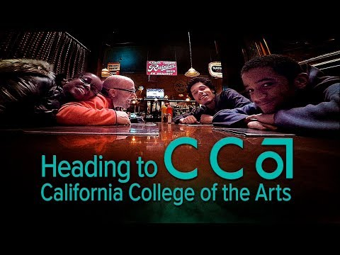 Dropping off our Son at California College of the Arts - CCA