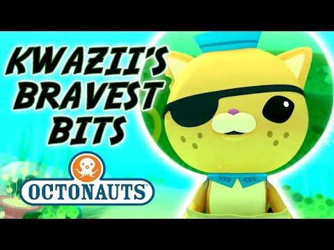 Octonauts - Kwazii's Bravest Bits | Cartoons for Kids | Underwater Sea Education
