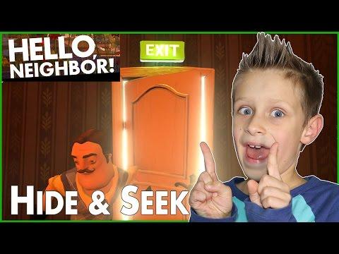 Hide & Seek in Hello Neighbor Alpha 1
