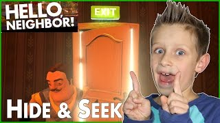 Hide & Seek in Hello Neighbor Alpha 1