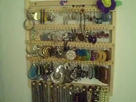 Review Wall Mount Jewelry Organizer YouTube